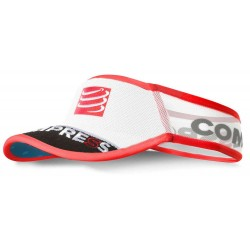 Visera Compressport Ultralight V2 Blanco