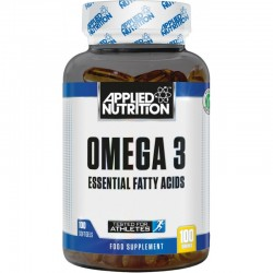 OMEGA 3 APPLIED NUTRITION, 100 CÁPSULAS