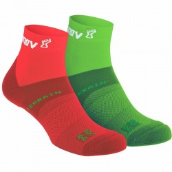 CALCETINES INOV-8 ALL TERRAIN VERDE/ROJO 2 PACKS