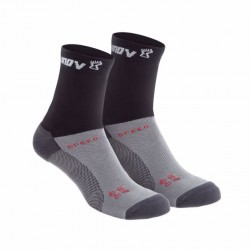 CALCETINES INOV-8 SPEED SOCK ALTO NEGRO 2 PACKS