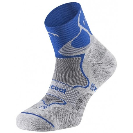 Calcetines Lurbel Track Trail Running Azul Gris