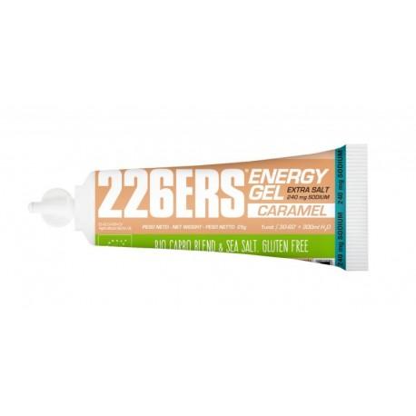 Gel Energetico Bio 25gr Caramelo 226ERS Extra Sales. Energy Gel Bio. Sin cafeina