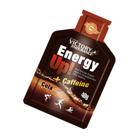Gel energético Energy Up Victory Endurance cola con cafeína