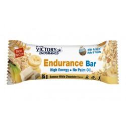 Barrita energética Victory Endurance Avena endurance bar platano y chcolate blanco