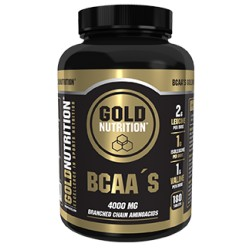 BCAAs Gold Nutrition 180 caps.