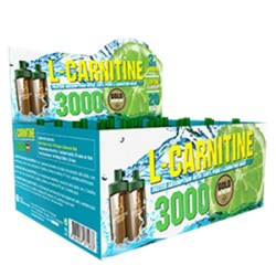 L-Carnitina 3000 Gold Nutrition 20 unidosis