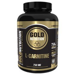 L-Carnitina Gold Nutrition 750mg 60 capsulas