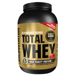 Proteína Total Whey Gold Nutrition 1Kg. Fresa