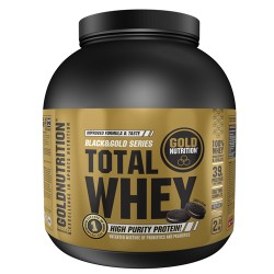 Proteína Total Whey Gold Nutrition 2Kg. Cookies & Cream