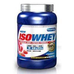 Proteina Iso Whey Quamtrax 908 gramos Fresa