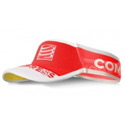 Visera Compressport Ultralight V2 Roja