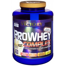 Proteina Pro Whey Complex Victory Vainilla 2Kg.