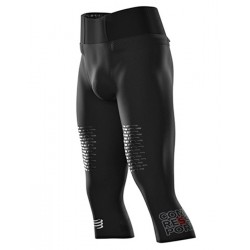 Mallas Compressport Piratas Tral Running 3/4 Under Control Negro