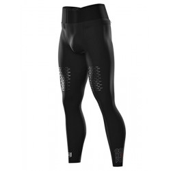 Mallas largas Compressport Trail Running Under Control Full Tights Negro