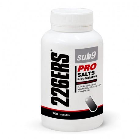Sales minerales 226ERS SUB9 con cafeína Salts Electrolytes 100 unidades