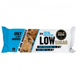Barritas Proteína Low Sugar Gold Nutrition Galleta Chocolate