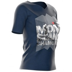 Camiseta Compressport Training Mujer UTMB 2018