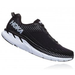 Zapatillas Hoka Clifton 5 Negro Blanco