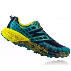 Zapatillas Hoka Speedgoat 2 Azul Amarillo