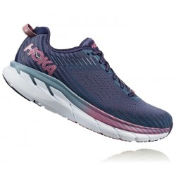 Zapatillas Hoka Clifton 5 Mujer Azul Rosa