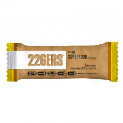 Barrita energética 226ERS Evo Bar Superfood Banana y Macadamia