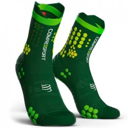 Calcetines Compressport ProRacing Socks v3.0 Trail Verde