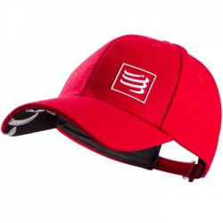 Gorra Compressport Wool Cap Roja