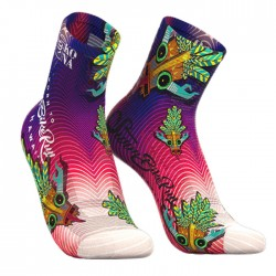 Calcetines Compressport Kona 2018 Proracing Socks V3 Run Hight