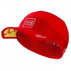 Gorra Compressport Proracing Ultralight Roja