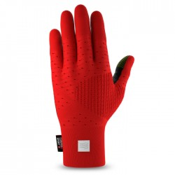 Guantes Compressport 3D Thermo Gloves Rojo