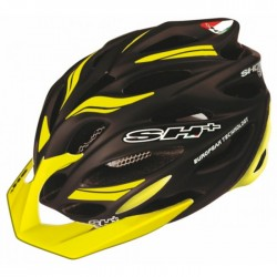Casco SH+ Shot R1 Negro Amarillo