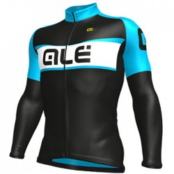 Maillot ciclismo Alé Excel Weddell Negro Azul