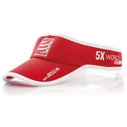 Visera Compressport Roja