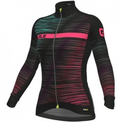Maillot ciclismo mujer Alé PRR The End Negro Multicolor
