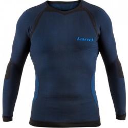 Camiseta térmica Land Bulnes Azul Negro