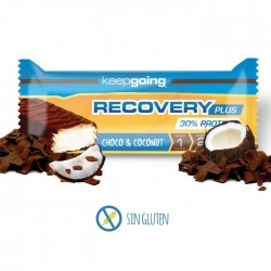 Barrita Recovery Keepgoing 30% Proteína Choco y Coco