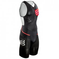 Traje Triatlon Compressport TR3 Aero Trisuit Negro