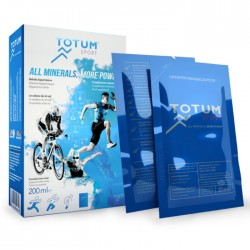 Totum Sport Agua Marina Sales Minerales caja 10 sobres de 20 ml.