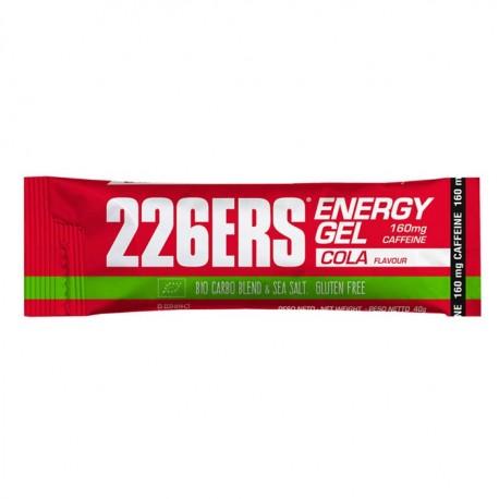 Gel energético bio 40 gr. Cola 226ERS. Cafeína 160 mg.