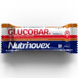 Barrita energética Glucobar cola Nutrinovex con cafeína, taurina y guaraná