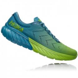 Zapatillas Hoka Mach 2 Azul Verde