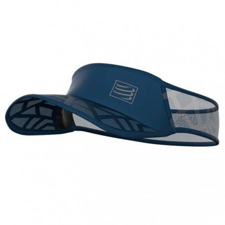 Visera Compressport Spiderweb Ultralight Azul
