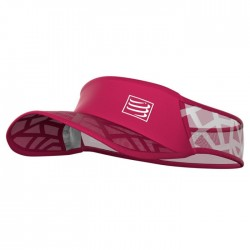 Visera Compressport Spiderweb Ultralight Rosa