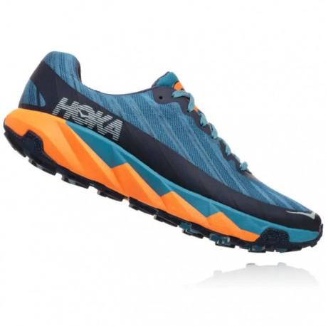 Zapatillas Hoka Torrent Azul Naranja