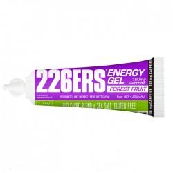 Gel energético BIO 25gr Frutos Rojos 226ERS Energy Gel Bio - CAFEINA 100mg