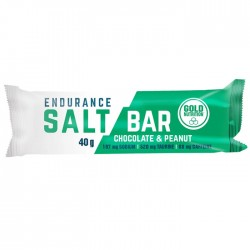 Barritas Endurance Salt Bar Choco y Cacahuete Gold Nutrition