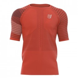 Camiseta Compressport Racing SS Naranja