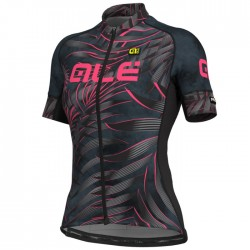 Maillot ciclismo mujer Alé corto PRR Sunset Gris