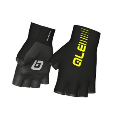 Guantes Alé cortos Sunselect Crono Glove Amarillo