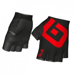 Guantes Alé Air Gloves Negro Rojo